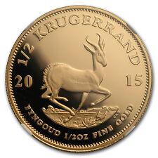 2015 South Africa 1/2 oz Gold Krugerrand PF-70 NGC - SKU #150250