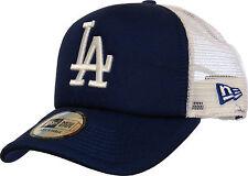 LA Dodgers NEW ERA CLEAN TRUCKER Bleu Royal Cap