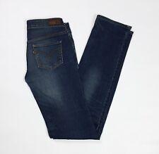 Levis 540 W26 L34 tg 40 jeans donna usato slim stretch aderenti vita bassa T3617