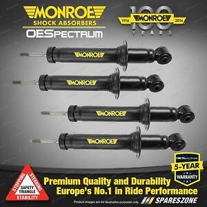 Front + Rear Monroe OE Spectrum Shock Absorbers for Lexus Is250 GSE20R 05-15