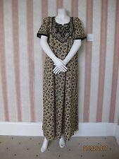 B3New Paisley Print 100% Cotton Maxi Kaftan Dress Nighty UK 14 -20+3GIFT