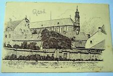 LOVELY AND VERY OLD PPC: GAND~GENT~LE PETIT BEGUINAGE~N. HEINS~ca 1906~UNDIVIDED