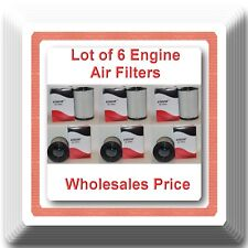 Lot of 6 Engine Air Filter A45091 CA8037 Fits:  Cadillac Chevrolet GMC Trucks