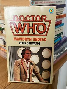 doctor who target book -  MAWDRYN UNDEAD -  1st edition