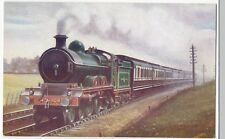 Ian Ian Allan PPC; Great Central 4-4-2 No 362 With Down Express c 1908, Unposted