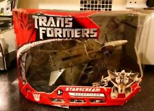 Transformers Starscream Rare BNIB 2006 movie Voyager brand new Automorph HASBRO