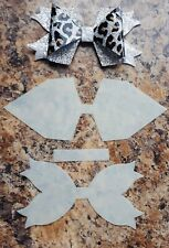 Beautiful Squared Hairbow Template- Make Your Own Bows