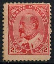 Canada 1903-12, 2c Carmine KEVII MH #D45208