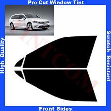 Pre Cut Window Tint VW Passat B8 5 Doors Estate 2014-... Front Sides AnyShade