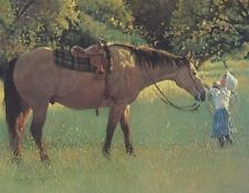 """Best of Friends"" Wayne Baize Limited Edition Western Print"