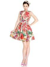 $795 RED VALENTINO Floral Poplin Dress Sz IT 38 U.S 2/4 Sold out!