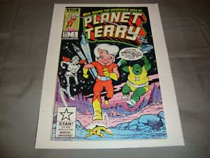Planet Terry #1 (Apr 1985) Marvel Star Comics VF Condition