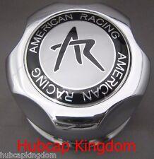 NEW AR AMERICAN RACING Wheel Snap-on Center Hub Cap 1342100S CHROME