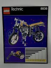 Lego Instructions. Technik #8838. Shock Cycle. Vintage