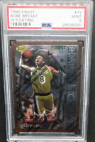 Kobe Bryant 1996-97 Finest w/ Coating RC Rookie # 74 Graded PSA 9 Mint Lakers