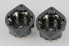 2pc Gold plated P8A 8pin tube socket for EL6 EL51 AD1 EF6 AZ1 EM4N 4699 AZ1