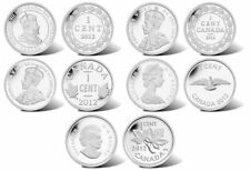 Canada Farewell to the Penny Fine Silver Five Coin Set 2012