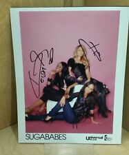 Autographs - Sugababes - all 3 members live ink - Universal Records