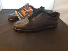 NWOB Thorogood Classics Size 11 US Medium Black Oxford Postal Walking Shoes NEW