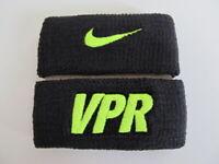 Nike Swoosh Vapor Bicep Bands Size OSFM Black/Volt