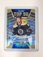 2019-20 UPPER DECK ALLURE TOP 50 AUTOGRAPH Zach SENYSHYN Auto #T50-22 GROUP D