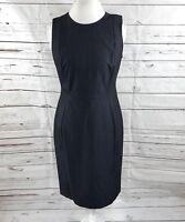 New Calvin Klein Women's Sheath Dress Black Denim Size 10  NWT
