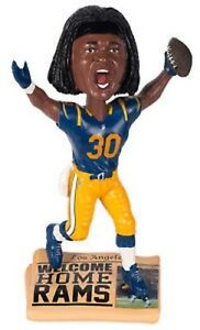 NFL Todd Gurley Los Angeles Rams Newspaper Base BobbleHead Forever