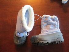 Sorel snow winter boots girl youth 3 eur 34 commander NY 1806-540 fur blue