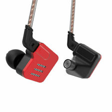 KZ BA10 Headset Hifi 5 Unit Balanced Armature 2 Pin 26dB  In-Ear Earphone