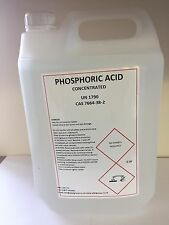 Phosphoric Acid Descaler and Rust remover 10 litres concentrate 85% max strength