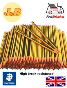Staedtler Noris 1-100 HB Pencils Office School Craft Art Drawing Break-Resistant