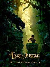Pre Affiche Pliée 120x160cm LE LIVRE DE LA JUNGLE 2016 Disney Jon Favreau NEUVE