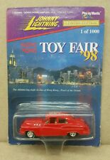 Johnny Lightning 1998 Hong Kong Toy Fair Red BUMONGOUS Extremely Rare 1 of 1000