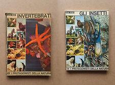 Gli Insetti e Gli Invertebrati - Peruzzo Editore - Prima edizione 1966
