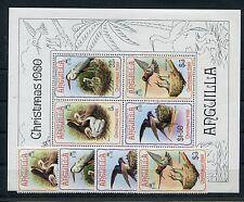 Anguilla 396/99 Block 34 postfrisch / Vögel ..............................1/3195