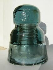 Rare sage green color C3H-III glass insulator
