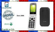 Doro 2404 blanc + batterie + chargeur + Garantie 6 mois