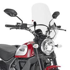 Givi 7407A Windscreen Kit for Ducati 2015-2017 Scrambler Icon 800