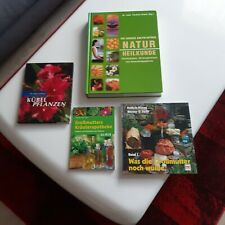 Konvolut Bücher 4 tlg. Naturheilkunde Kräuter usw.sehr gefragt und beliebt Neu