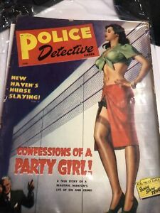 Police Detective Cases- June 1949