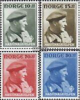 Norwegen 310-313 (kompl.Ausg.) postfrisch 1946 Nationalhilfe