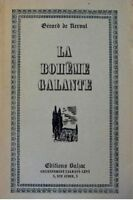 GERARD DE NERVAL la boheme galante ED. BALZAC RARE++