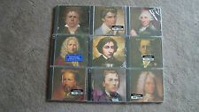 Time Life Great Composers Lot 9 Volumes 18 CD Set Still Sealed Chopin Beethoven