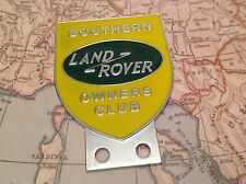 LAND ROVER OWNER CLUB CAR BADGE SERIES 1 2 3 ORGINAL  AUTOMOBILIA  SOUTHERN
