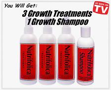 NUTRIFOLICA REGROWTH TREATMENT+SHAMPOO STOP HAIR LOSS BALDNESS grow growth DHT