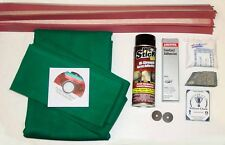 8' Imperial Pool Table Felt Cloth Recovering & Refelting Accessory Repair Kits