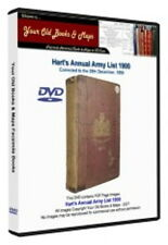 Hart's Annual Army List 1900 DATA DVD Boer War