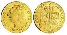 Monnaies royales françaises de Louis XIII en or à Louis XVI sur Louis XVI