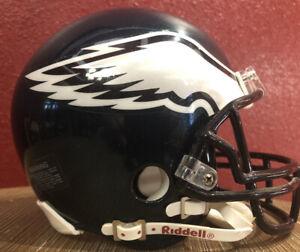 NFL Throwback Philadelphia Eagles Riddell Mini  Football Helmet & Facemask