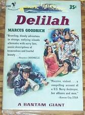 Marcus GOODRICH / DELILAH 1953 First Printing